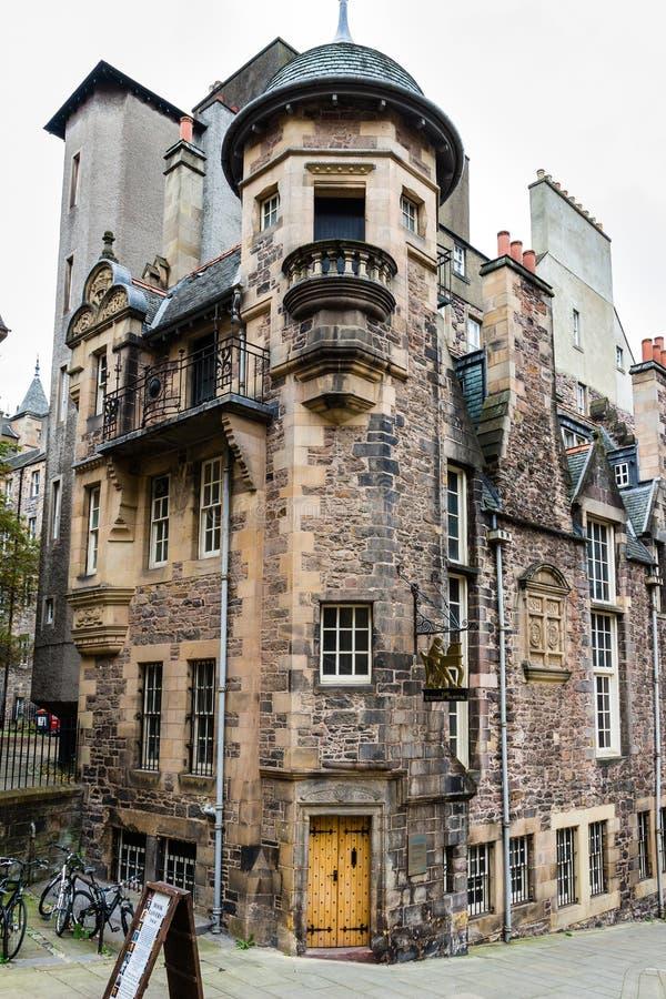Estasi al museo del ` degli scrittori a Edimburgo, Scozia fotografia stock