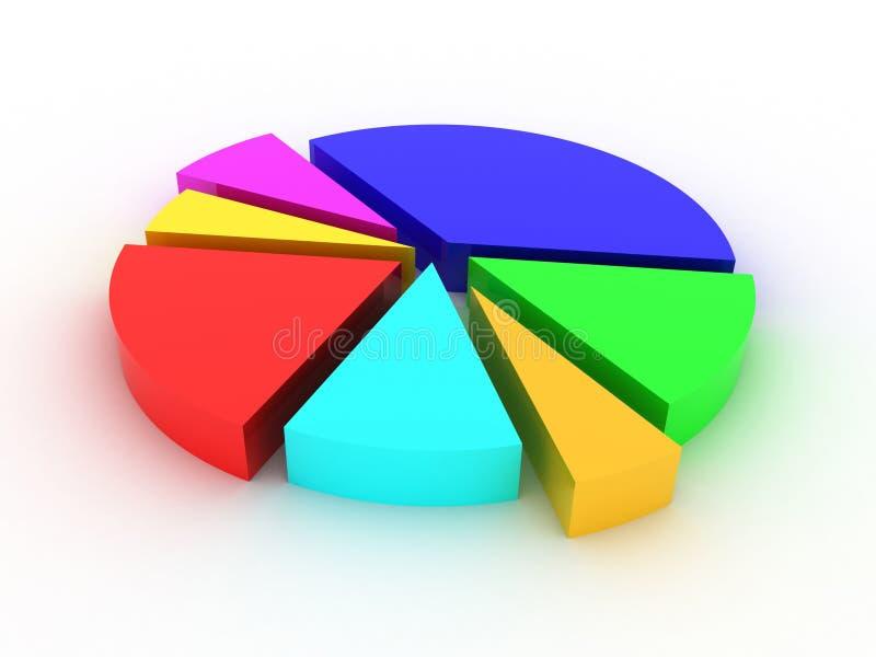 Estatísticas ilustração stock