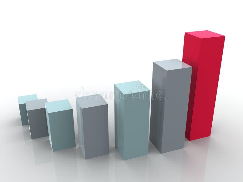 Estatísticas de negócio ilustração do vetor