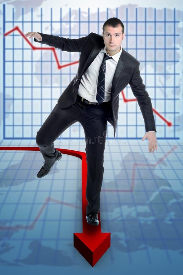 Estatísticas do risco imagem de stock