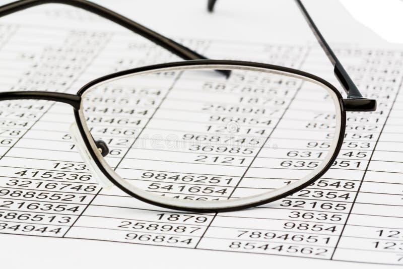 Estatísticas e tabelas imagens de stock royalty free