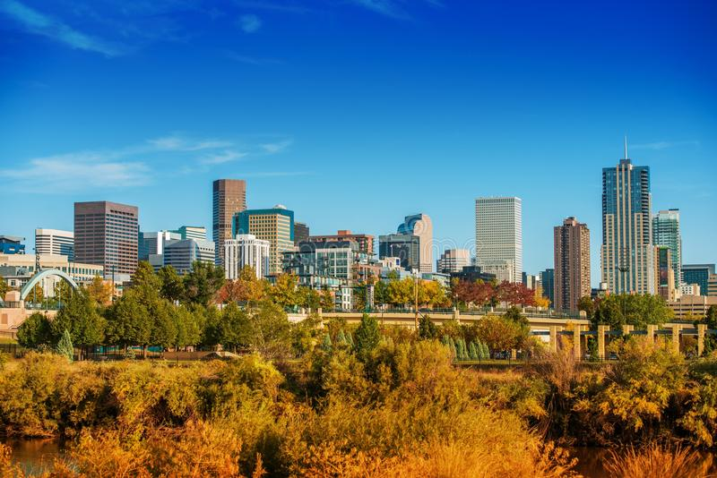 Estate in Denver Colorado immagini stock