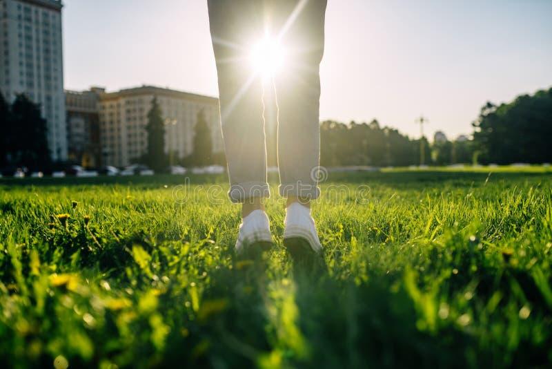 Estate ed umore solare fotografie stock libere da diritti
