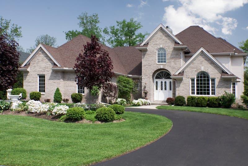 Estate House stock photo
