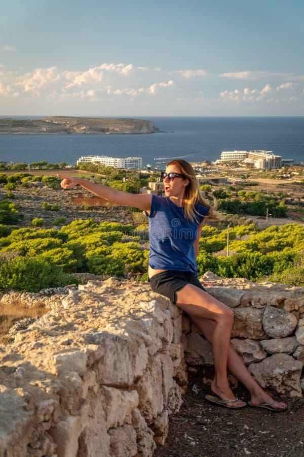 Estate a Malta immagine stock