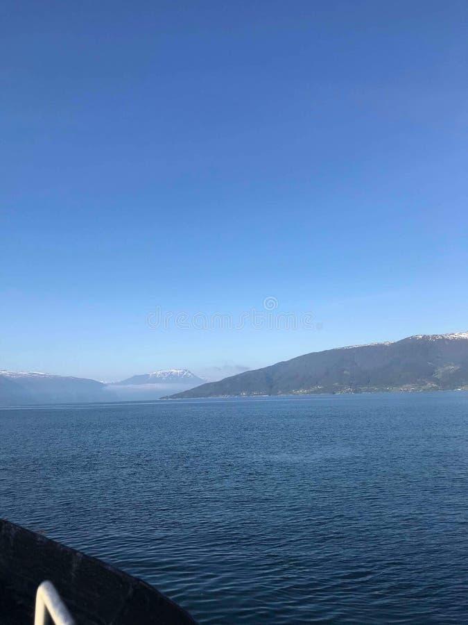 Estate in Norvegia fotografia stock libera da diritti