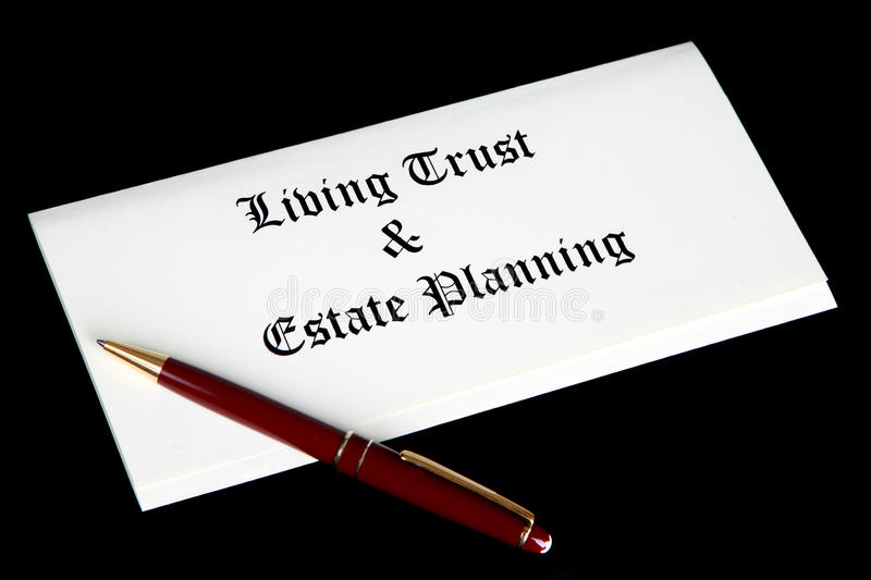Download Estate Planning Documents Stock Photography - Image: 12661202