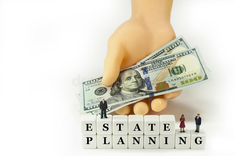 Estate Planning. royalty free stock images