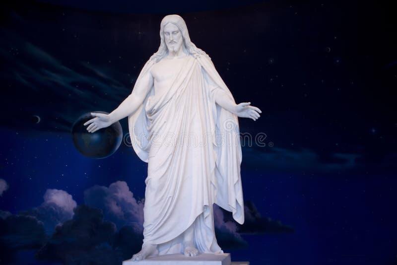 Estatua 238 del Jesucristo imágenes de archivo libres de regalías