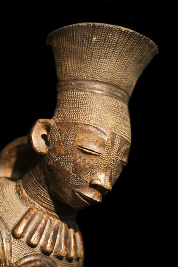Estatua africana fotografía de archivo libre de regalías