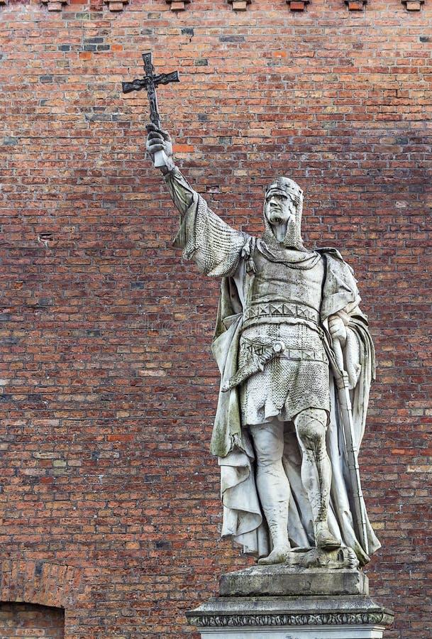 Estatua Albert el oso, Germania imagenes de archivo