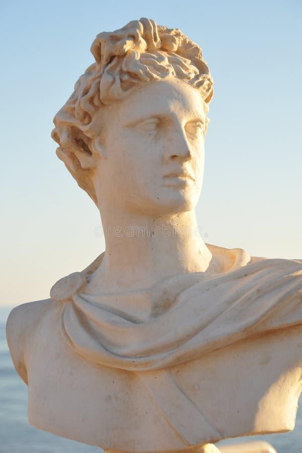 Estatua antigua. fotos de archivo