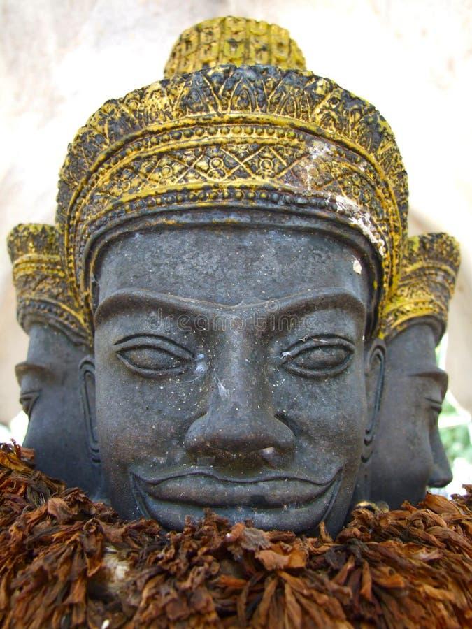 Estatua camboyana del estilo, Tailandia imagen de archivo libre de regalías