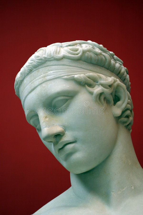 Estatua clásica foto de archivo libre de regalías