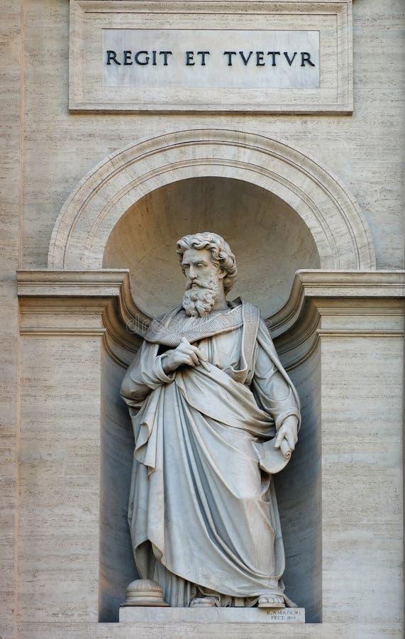 Estatua de Alexander del santo fotografía de archivo libre de regalías