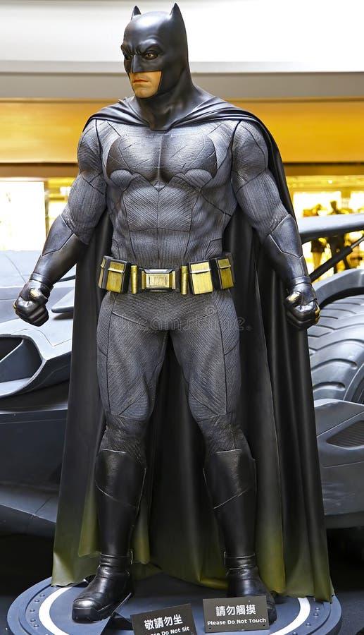 Estatua de Batman imagen de archivo