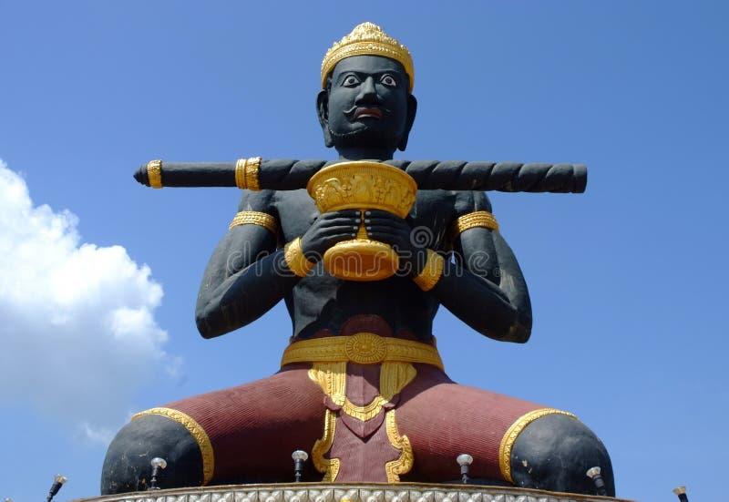 Estatua de Battambang imagen de archivo