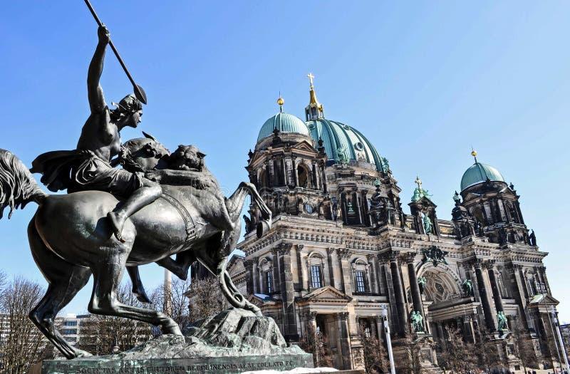 Estatua de Berlín imágenes de archivo libres de regalías