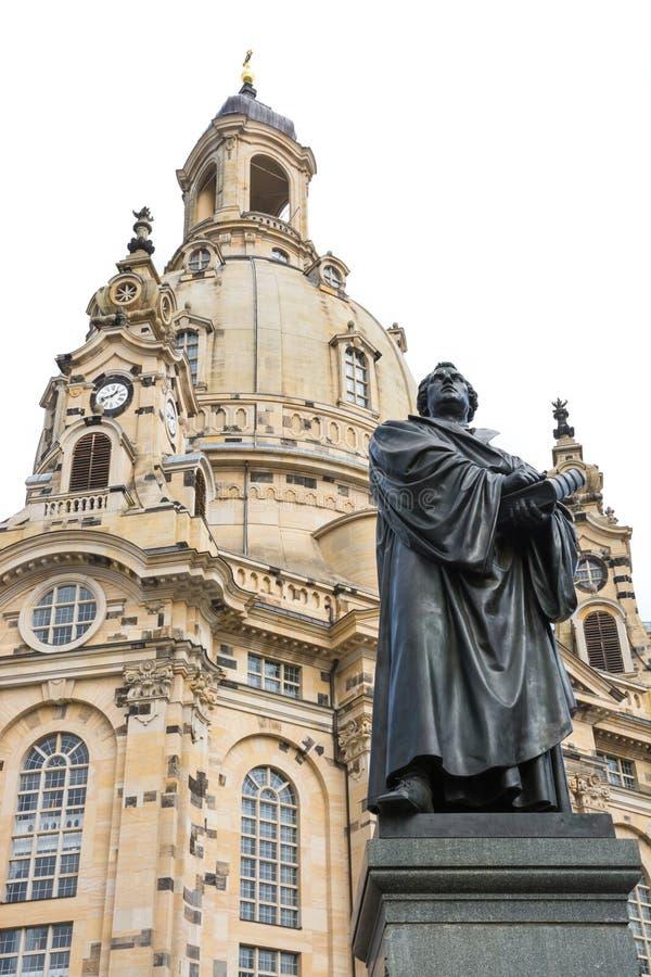 Estatua de Bronce de Martin Luther foto de archivo libre de regalías