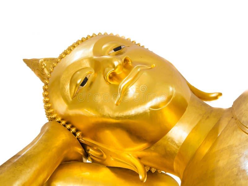 Estatua de Buda aislada foto de archivo