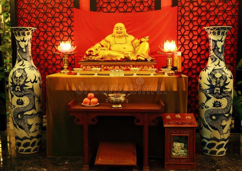 Estatua de Buda del chino imagen de archivo libre de regalías