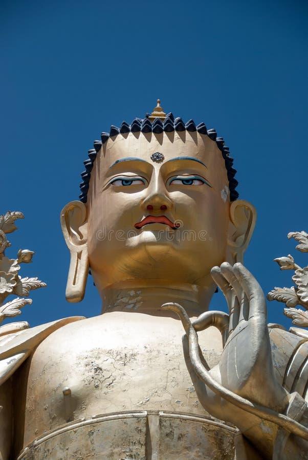 Estatua de Buda en el monasterio de Liker fotografía de archivo