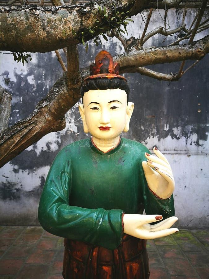 Estatua de Buda en Vietnam fotografía de archivo libre de regalías