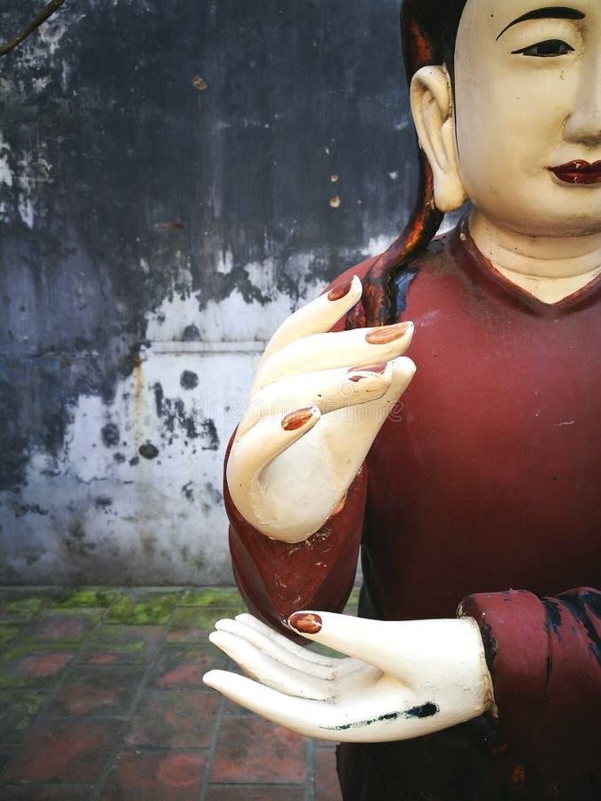 Estatua de Buda en Vietnam fotos de archivo