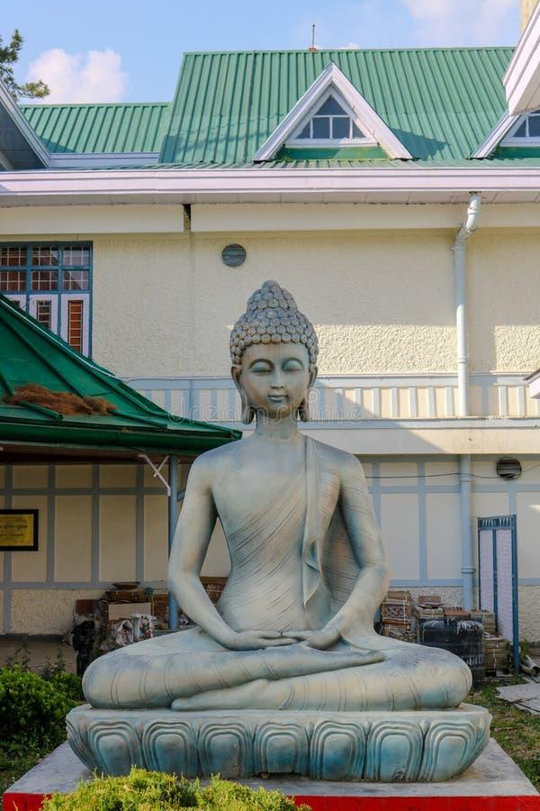 Estatua de Buda, Shimla foto de archivo