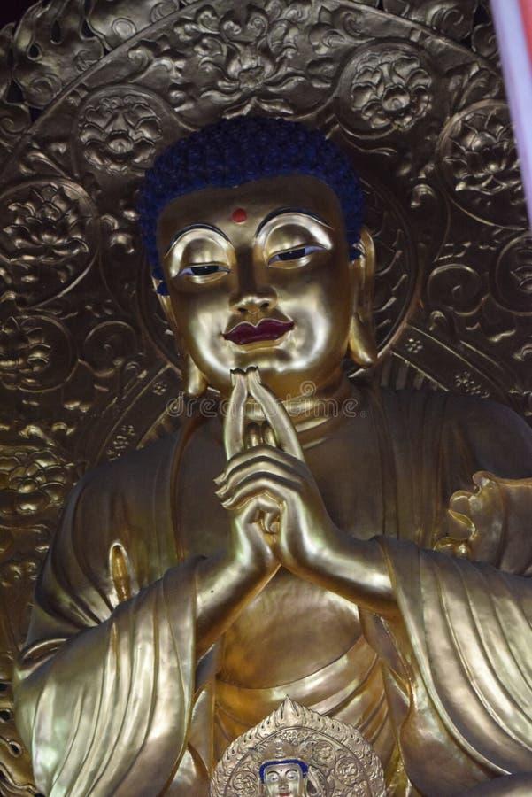 Estatua de Budda en China fotografía de archivo