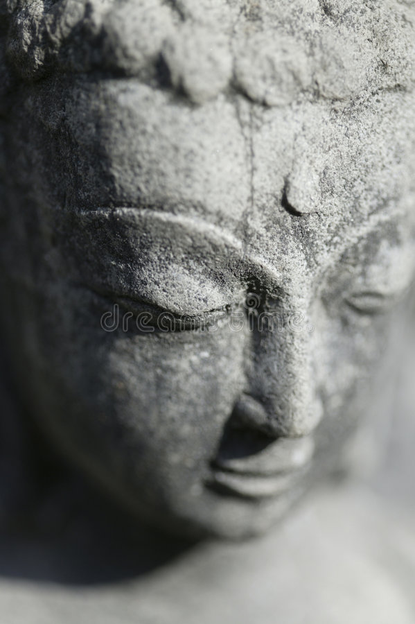 Estatua de Buddha en Nepal fotos de archivo