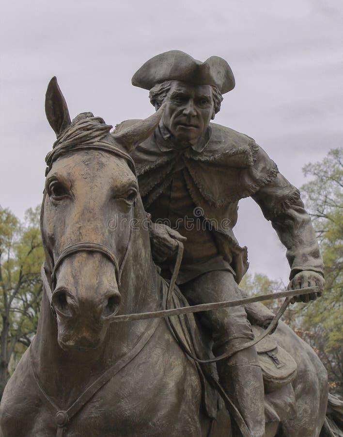 Estatua de capitán Gato imagen de archivo libre de regalías