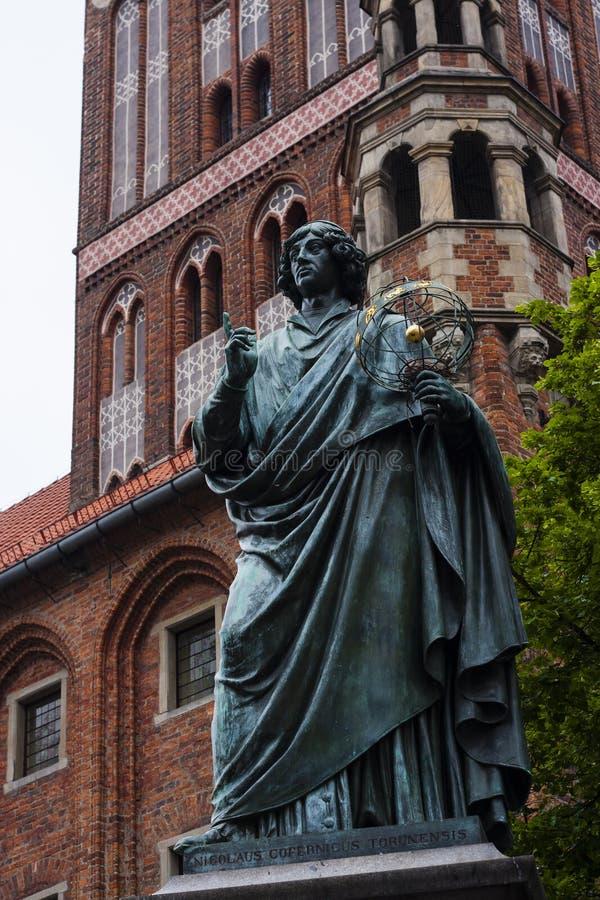 Estatua de Copernicus fotografía de archivo