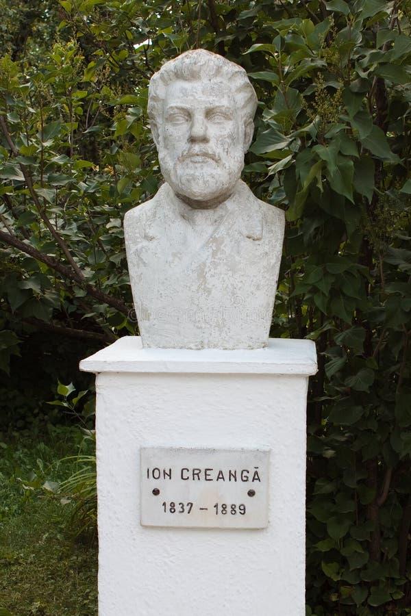 Estatua de Creanga del ion foto de archivo