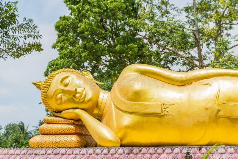 Estatua de descanso de Buddha fotos de archivo libres de regalías