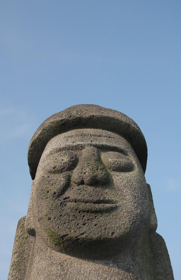 Estatua de Dol Hareubang fotos de archivo libres de regalías