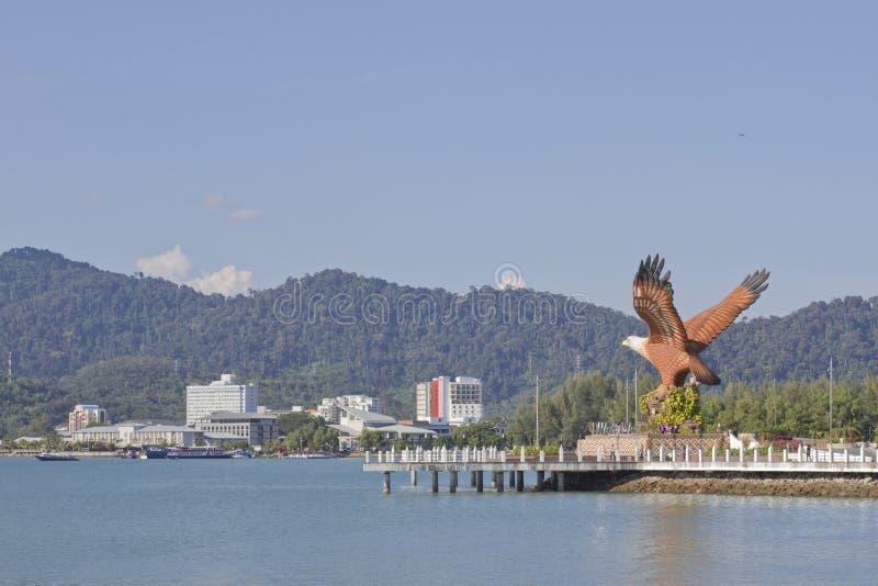 Estatua de Eagle imagen de archivo