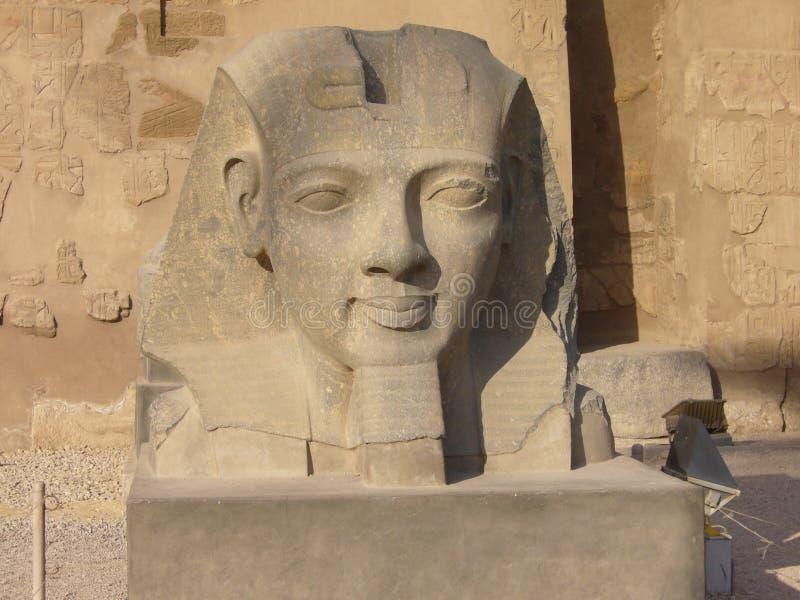 Estatua de Egipto fotografía de archivo