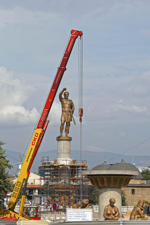 Estatua de Felipe II imagen de archivo