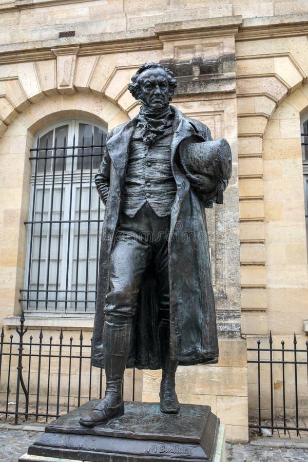Estatua de Francisco Goya imágenes de archivo libres de regalías