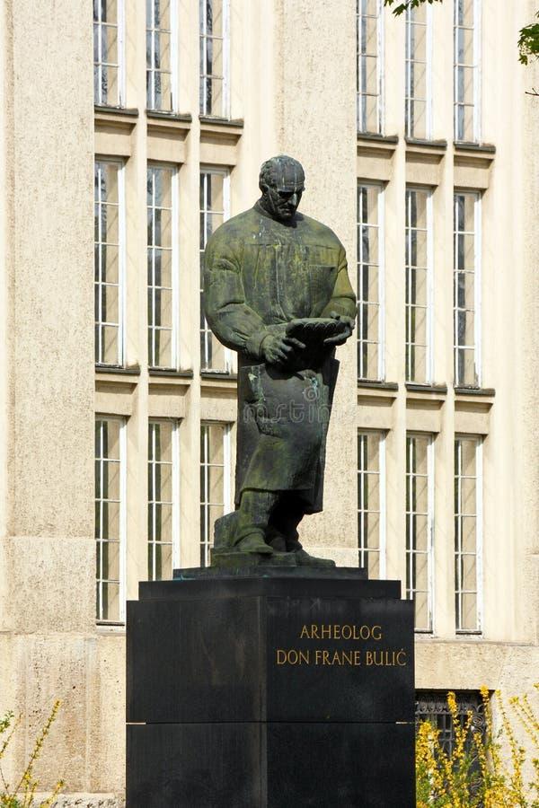 Estatua de Frane Bulic fotos de archivo