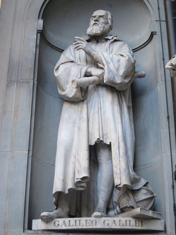 Estatua de Galileo Galilei imágenes de archivo libres de regalías