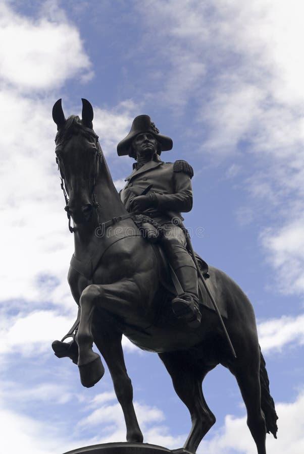 Estatua De George Washington Imagen de archivo - Imagen de ...