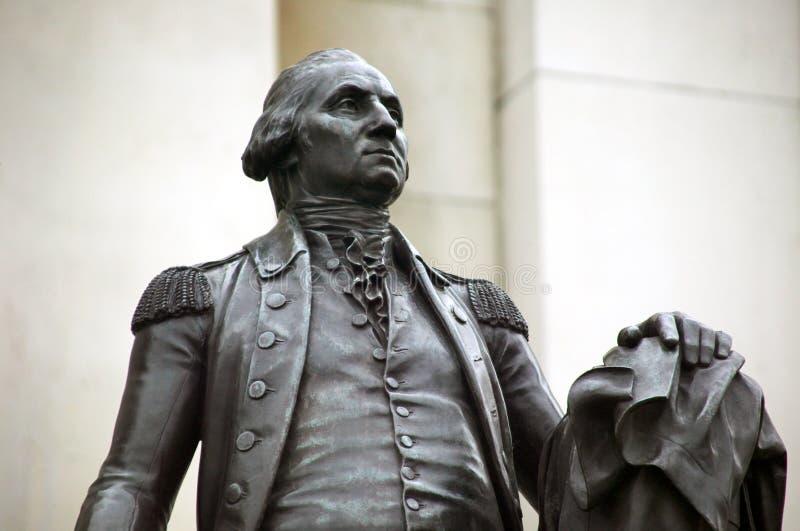 Estatua de George Washington imagen de archivo libre de regalías