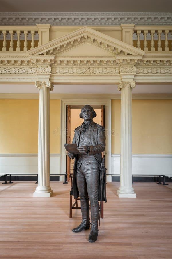 Estatua de George Washington fotos de archivo libres de regalías