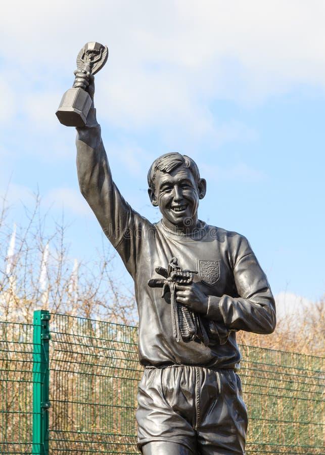 Estatua de Gordon Banks fotografía de archivo