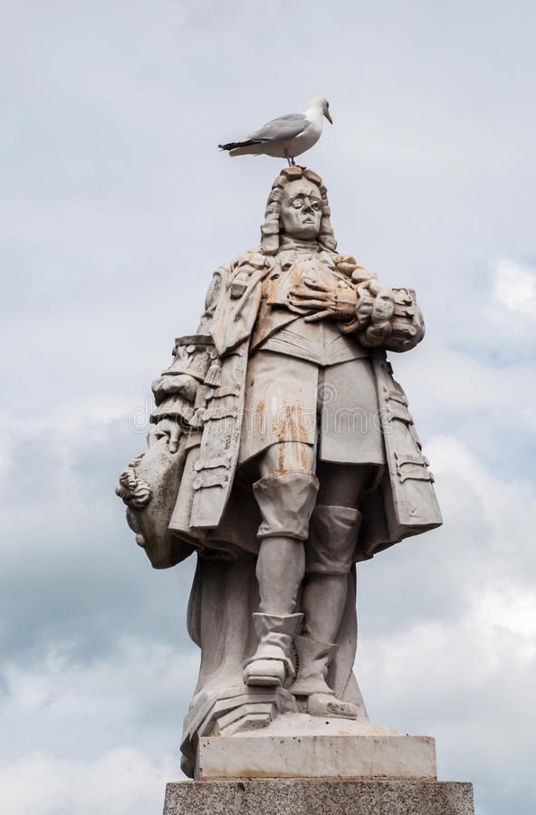 Estatua de Guillermo de la naranja imagen de archivo libre de regalías