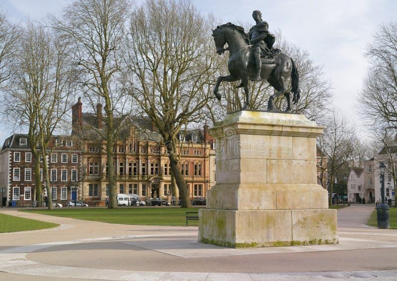 Estatua de Guillermo III fotos de archivo
