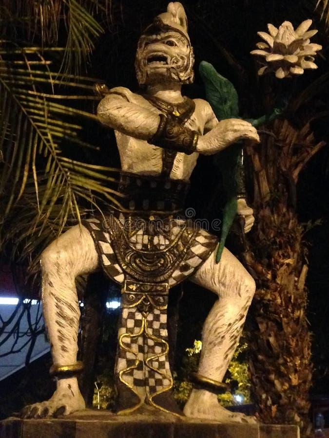 Estatua de Hanoman fotos de archivo libres de regalías
