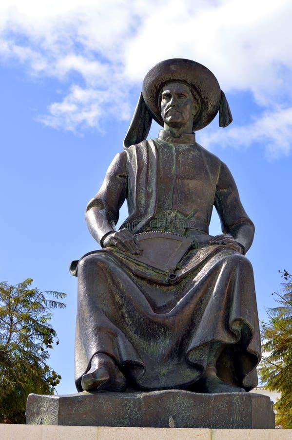 Estatua de Henry el navegador el explorador portugués fotografía de archivo libre de regalías